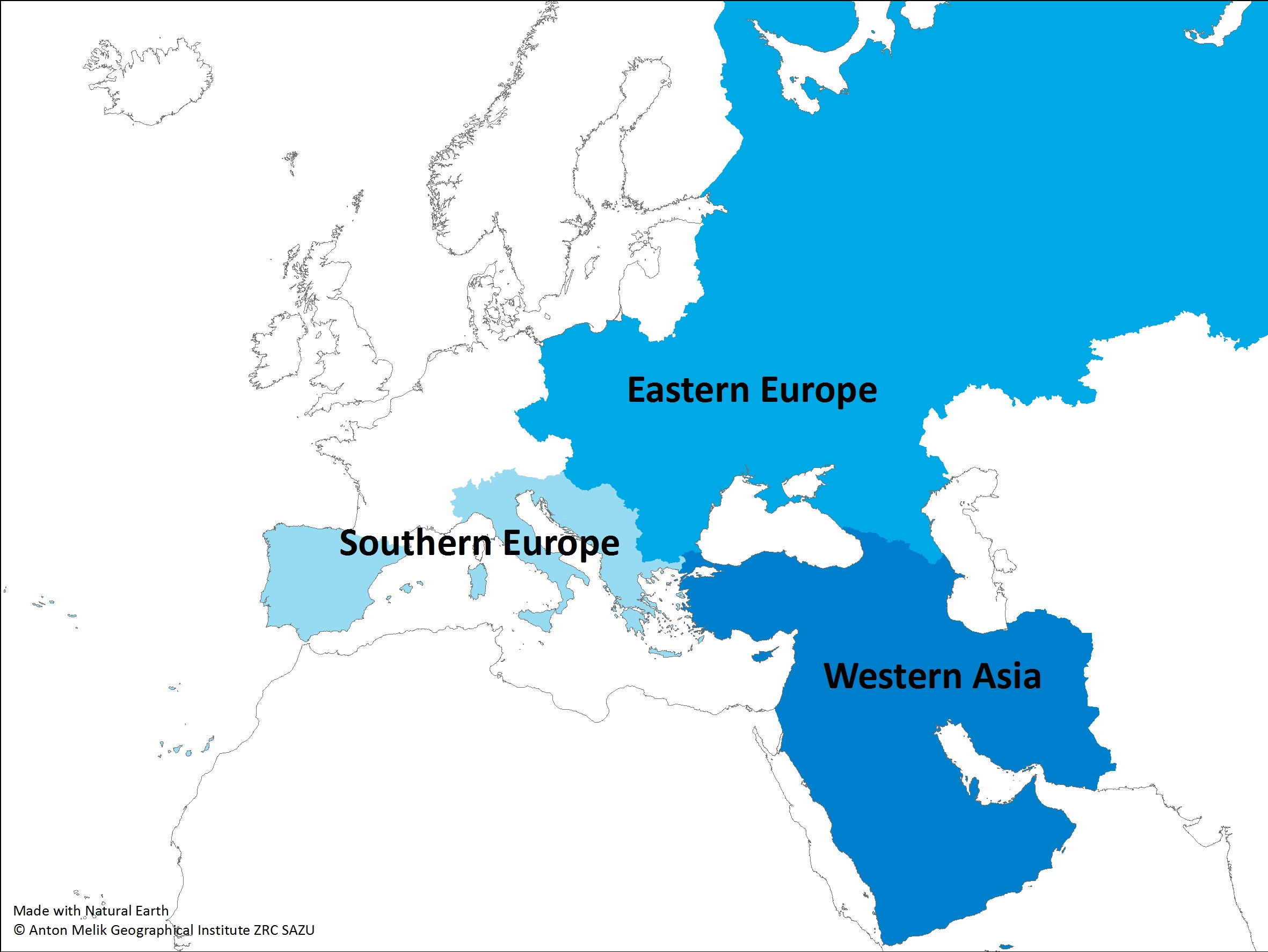 East Central and South-East Europe Division UNGEGN > Home